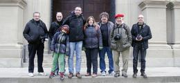 Excursió de membres de l'Afic Guíxols a la Festa del Tonis de Manlleu