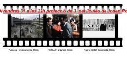 3 pel·licules de Josep Rota